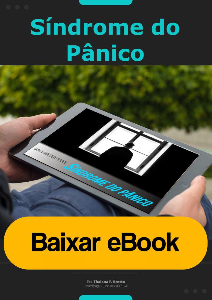 ebook Grátis Síndrome do Pânico