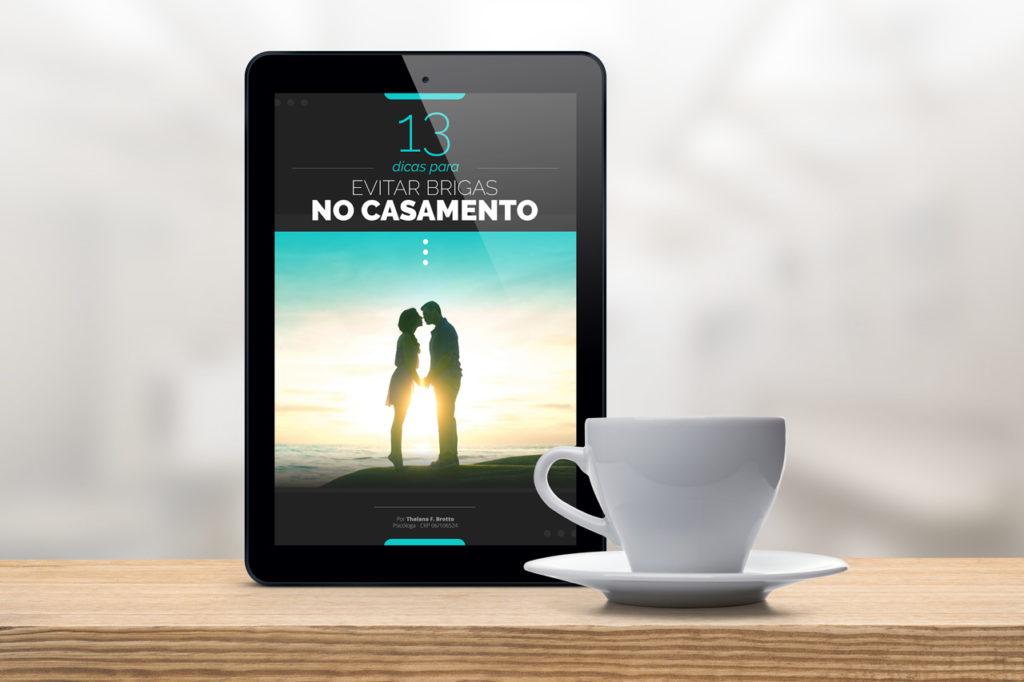 E-book grátis: 13 dicas para evitar brigas no casamento