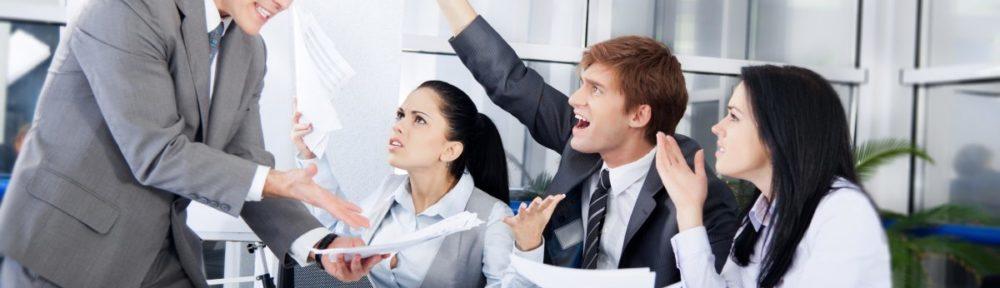 Como lidar com conflitos no trabalho